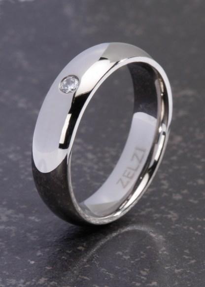 Aretha titanium ring