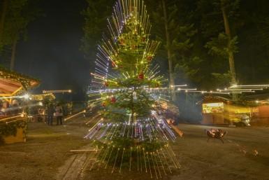 Waldweihnacht im Baumkronenweg in Kopfing ist ein Erlebnis