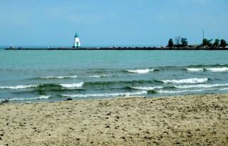 Port Dalhousie beach and Lake Ontario_6414119341_l