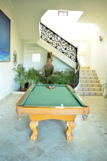 The pool table that remained unused throwout the whole meetup!