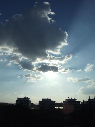 Blue skyes bring tears