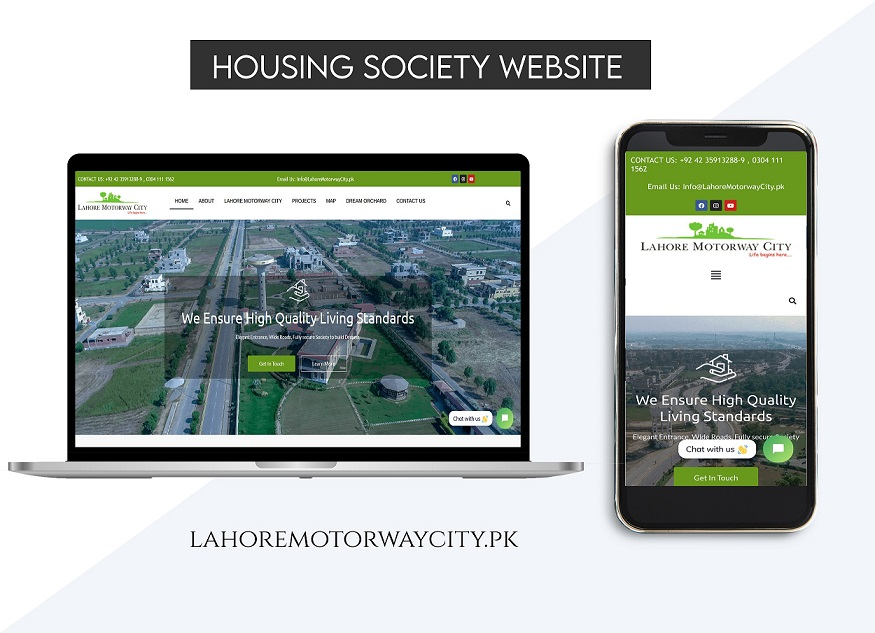 lahore motorway City Website