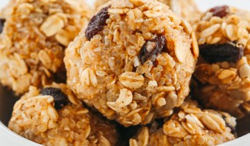 Recette : Boules d'énergie au quinoa