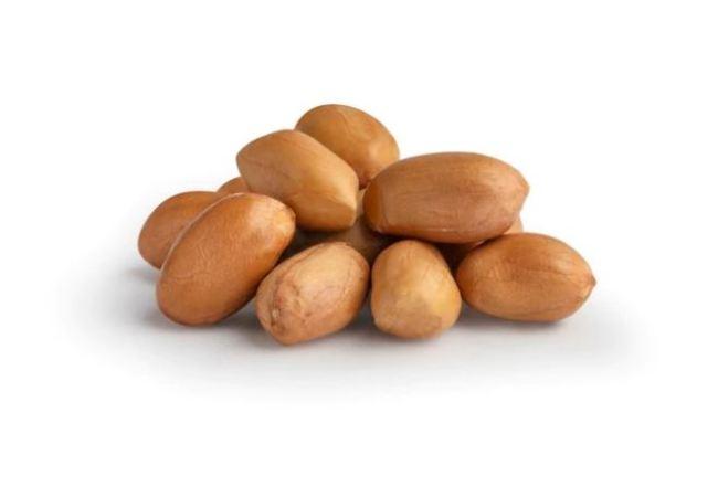 cacahuètes décortiquées