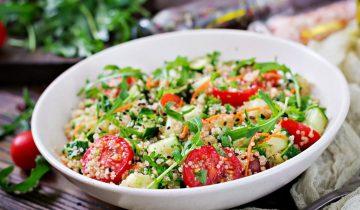 Recette : Salade détox quinoa, avocat et pomme