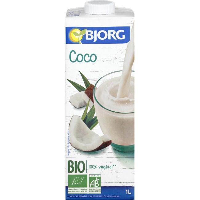 lait coco bjorg tunisie