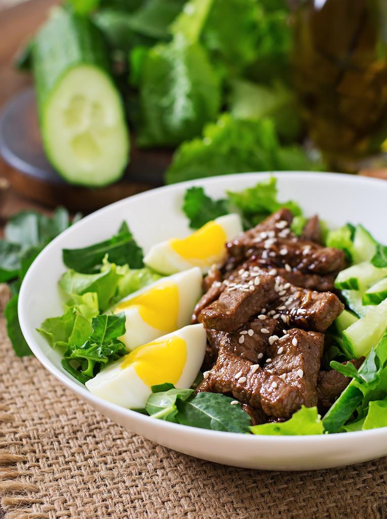 recette salade keto