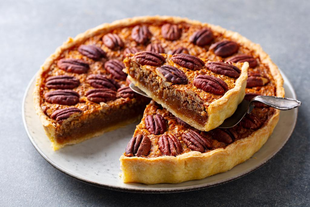 recette tarte au noix et chocolat