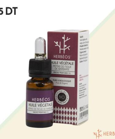 huile de figue barbarie herbeos tunisie