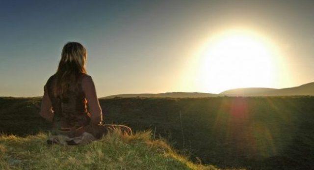 Meditationsroutine im Sommer