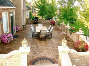 6 concrete patio design ideas to