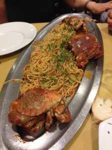 Taglierini e crostacei