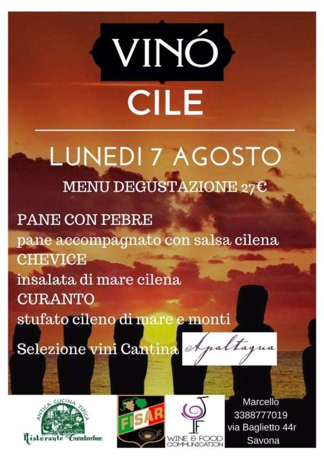 Vini cileni Marco Marchese wine events