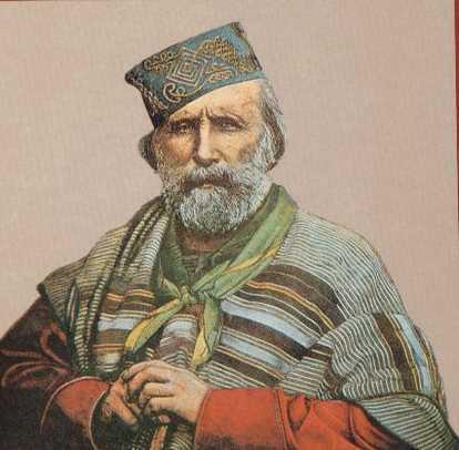 Giuseppe Garibaldi in cucina