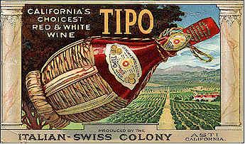 vino della California