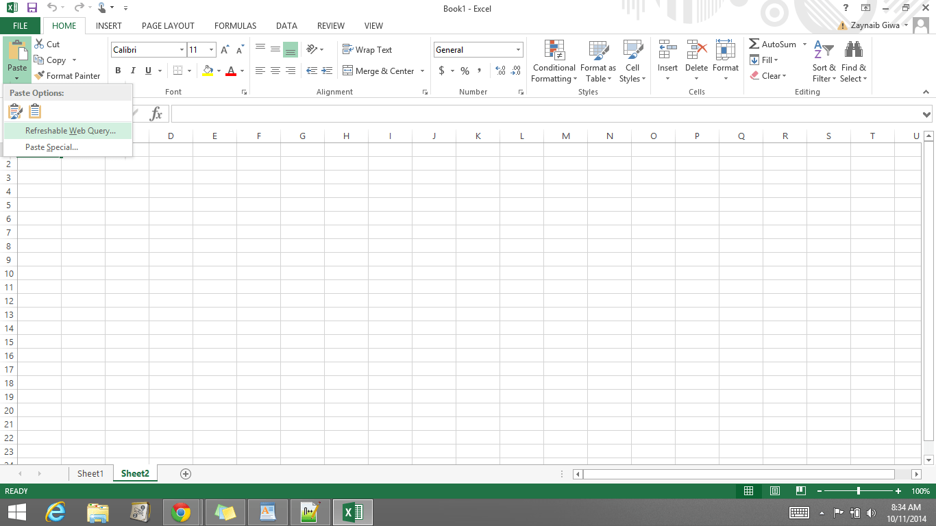 Excel Vba Paste Special Values All Sheets
