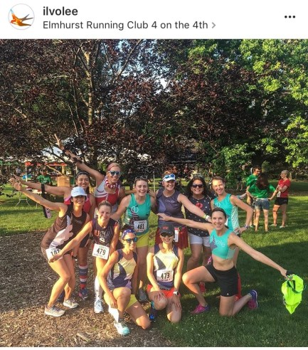 Elmhurst Running Club 4 on the 4th 3