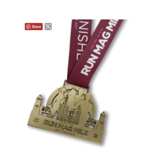 Run Mag Mile 10k Medal