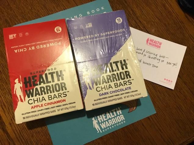 Health Warrior Chia Bars 3