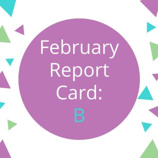 February 2018 Report Card