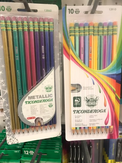 Ticonderoga Pencils-1