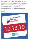2019 Chicago Marathon Announcement