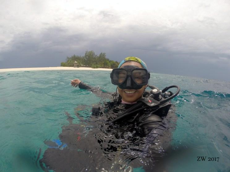 El después de una inmersión
