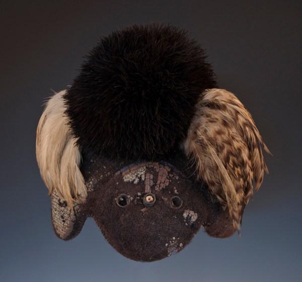 African Tribal Art - Headdress Karamojong Uganda Kenya