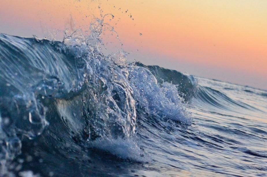 meri, aallot