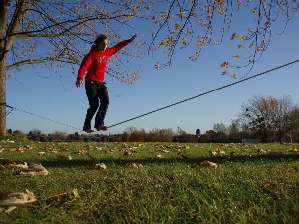 Slacklining is Stupid: A totally unbiased study