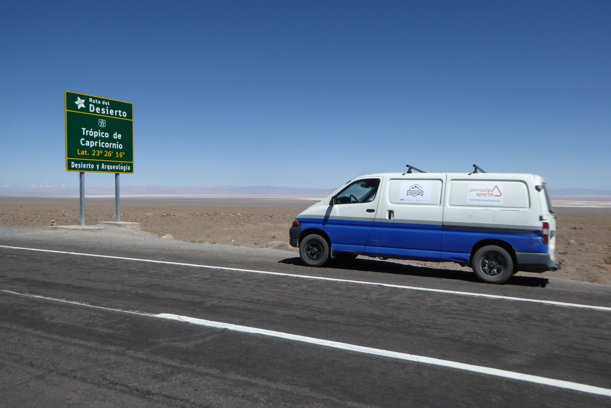 Tropic of Capricorn, La Carretera Alta