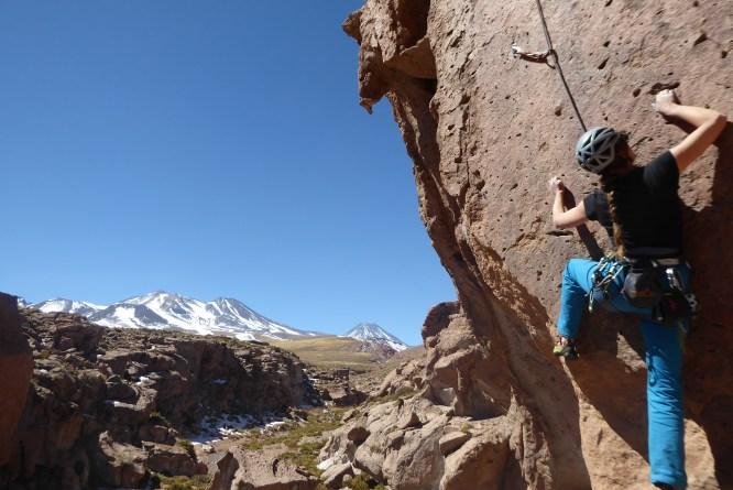 Socaire Climbing