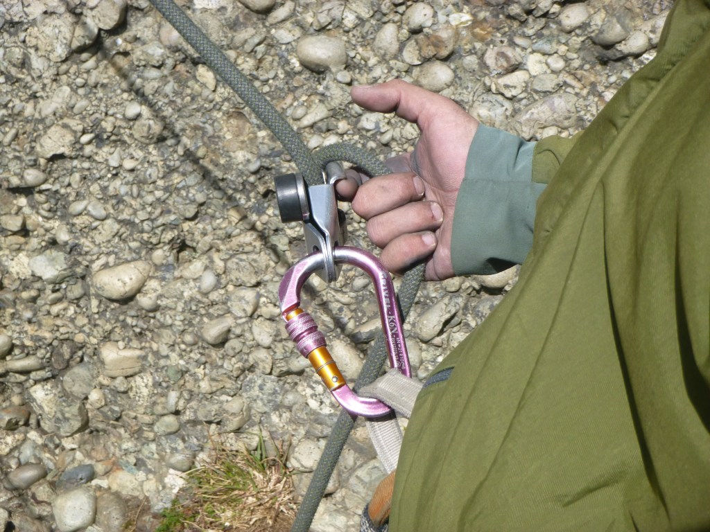 grigri correct lead belay demonstration