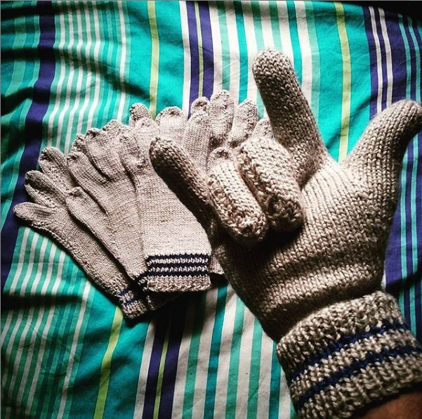 Gear Review: Nana Elsie's Hand-knitted Liner Gloves