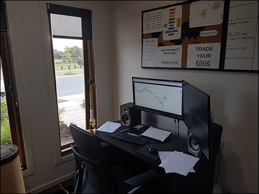 My Home Forex Trading Office