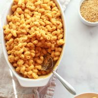 The Best Sweet Potato Vegan Mac and Cheese (Gluten-free, Nut-free, Oil-free)