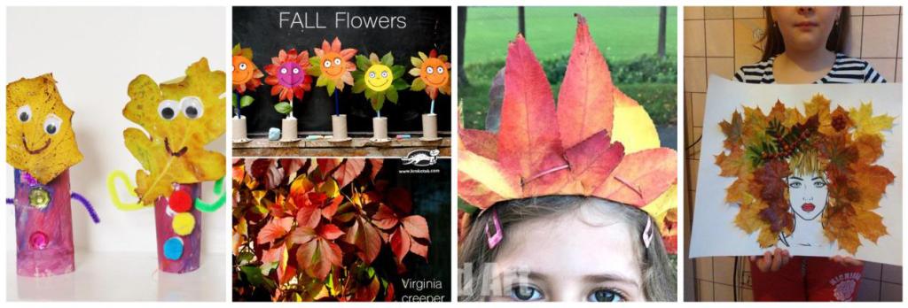 jesenske kreativnosti, diy, jesen, djeca, rad s djecom