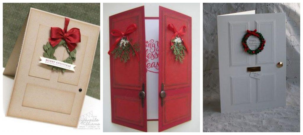 Božićne čestitke, vrata