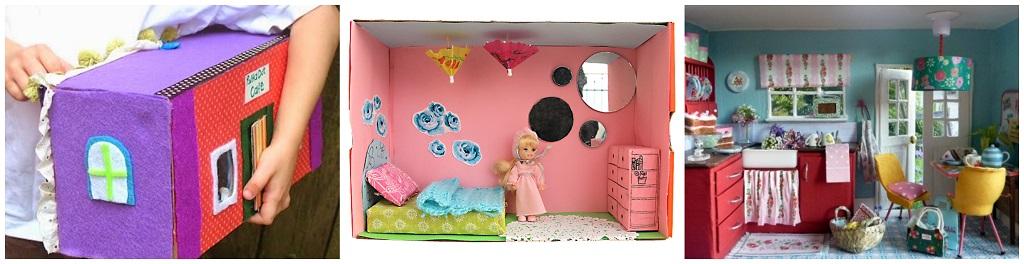 kutije za cipele, igračke, kućica za lutke