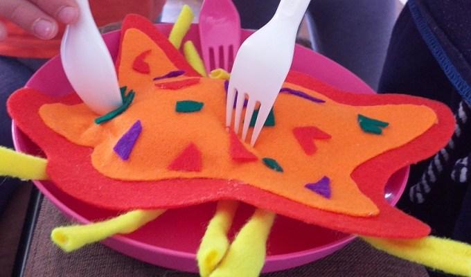 Izrada kuhinjskih igračaka od filca, dječja kuhinja