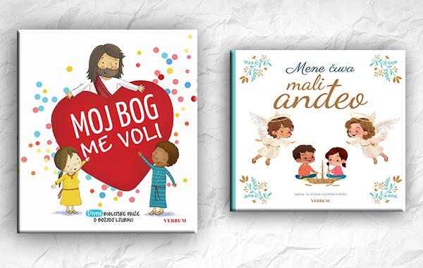 Nova Verbumova izdanja za djecu: Moj Bog me voliiMene čuva mali anđeo