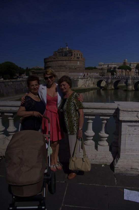 Rome with baby Il Castello
