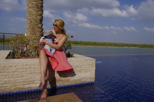 Abu Dhabi with baby. Eastern Mangroves Hotel & Spa By Anantara.