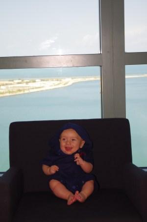 Abu Dhabi with baby - Sofitel Corniche