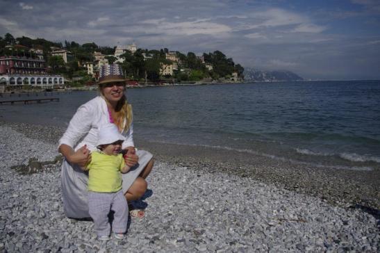 Santa Margherita de Liguria with kids