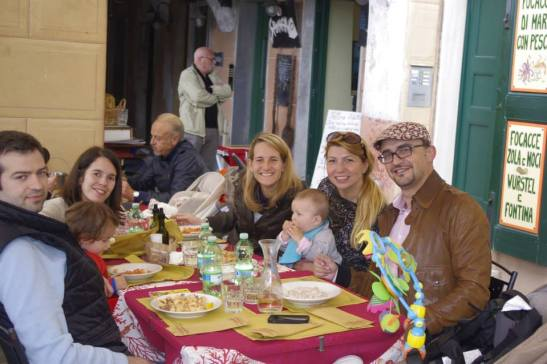 Camogli with kids - restaurant