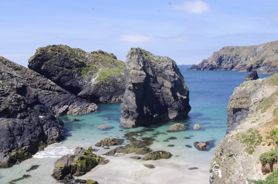 Cornwall with a baby - kynance cove
