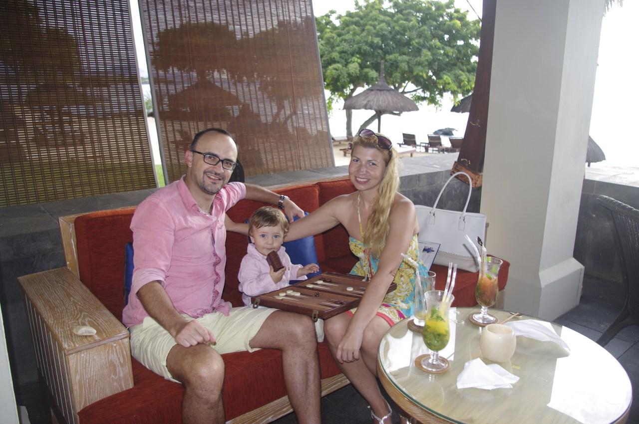 Mauritius with toddler - Oberoi