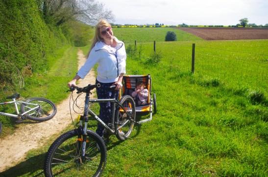 Calcot Manor with kids (biking)