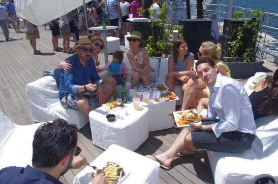 Lido Bellagio brunch - Lake Como family holidays